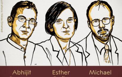 Nobel Kinh tế 2019 vinh danh 3 nhà khoa học giúp 'xóa đói giảm nghèo'