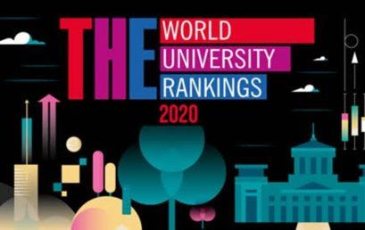Xếp hạng Đại học Times Higher Education năm 2020 : Erasmus University Rotterdam giữ vững vị trí Top 2% Đại học tốt nhất thế giới